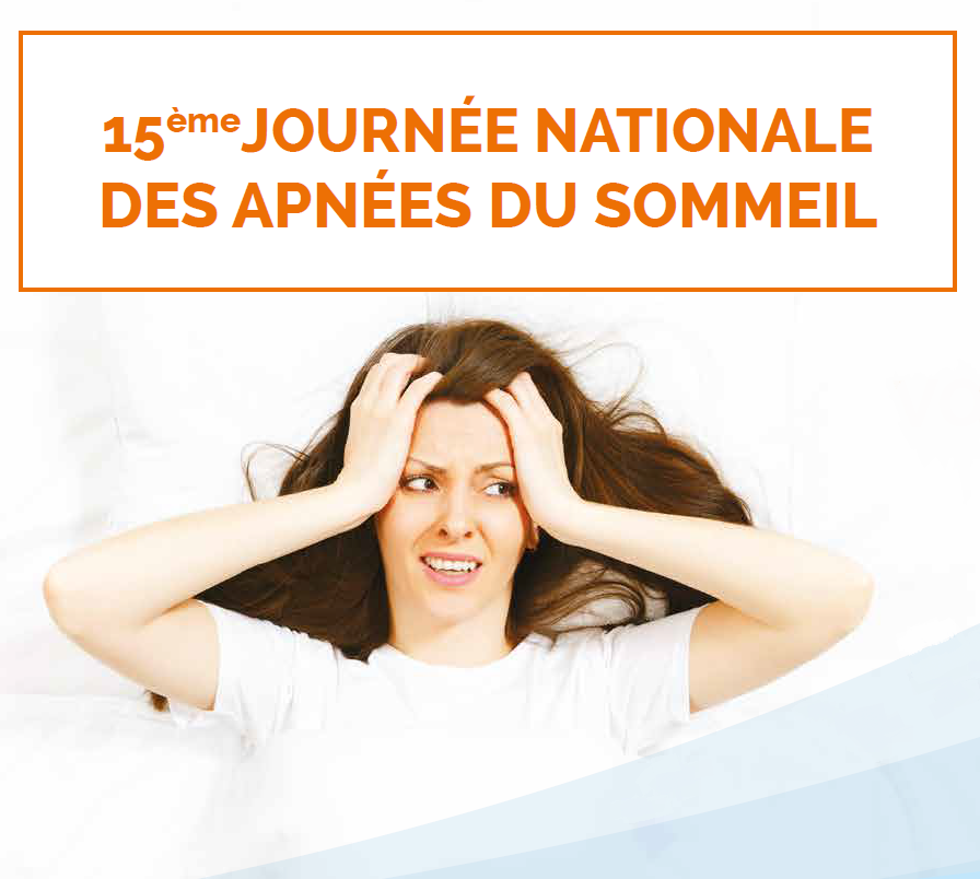 Affiche Journée Nationale des Apnées du Sommeil